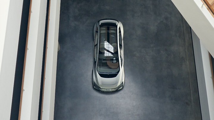 Audi AI:ME glass roof