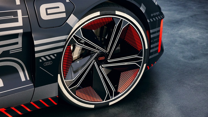 Wheel rim of the Audi e-tron GT concept